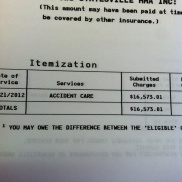 The goal for '13 is no emergency room bills
