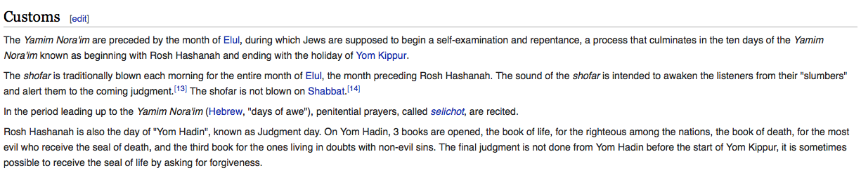 jews celebrates rosh hashanah to reflect and self evaluate A muslim's perspective on rosh hashanah for people who are not jewish to reflect on the symbolism of judaism self-reflection and it celebrates the very.
